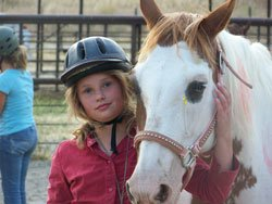 Western horseback riding camp
